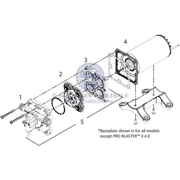 Shurflo® Pump - Spare Parts